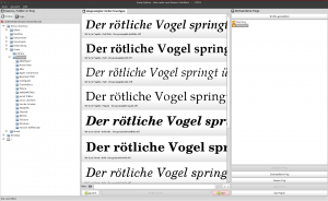Fonty Python Screenshot